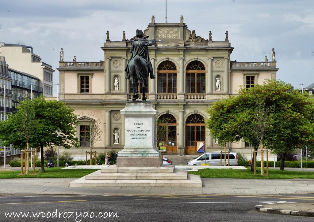 Genewa – spacer po mieście